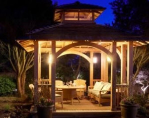 Gazebo Lighting Ideas. Gazebo Lighting Ideas 8