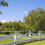 fence on property line